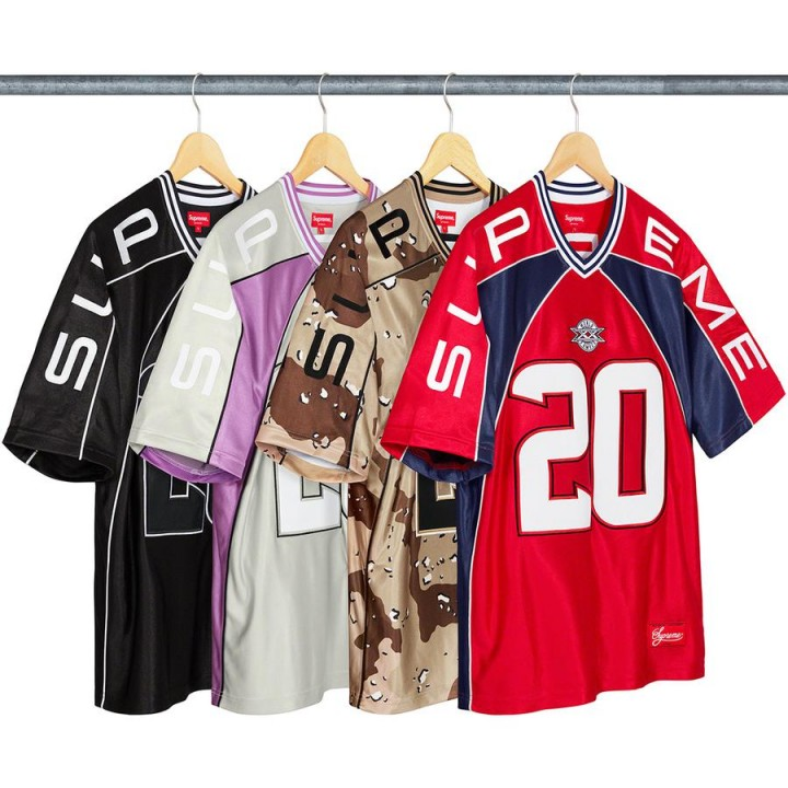 Supreme Paneled Football Jersey