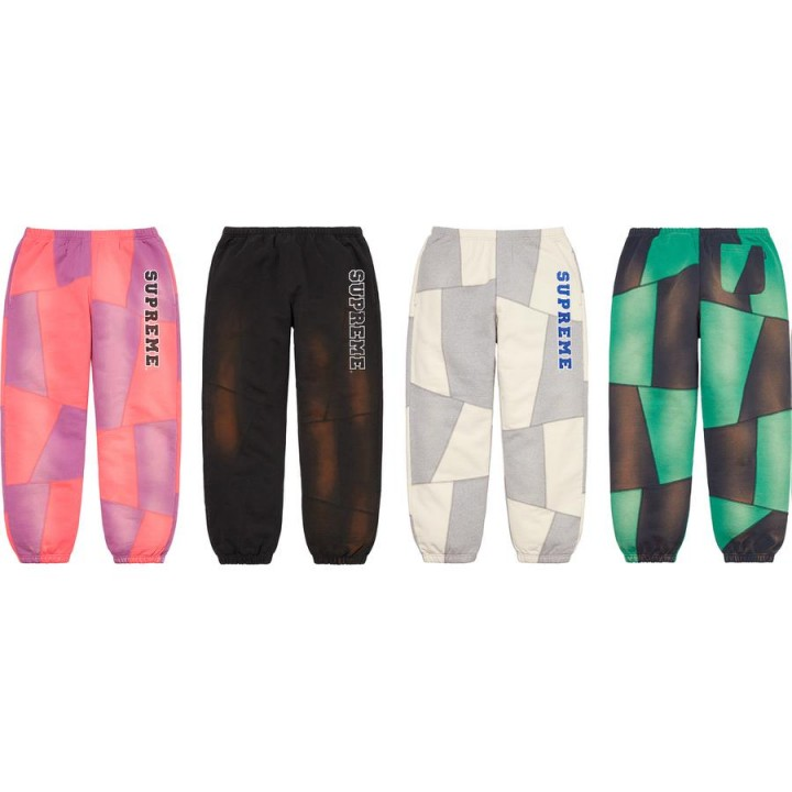 Supreme Patchwork Sweatpant