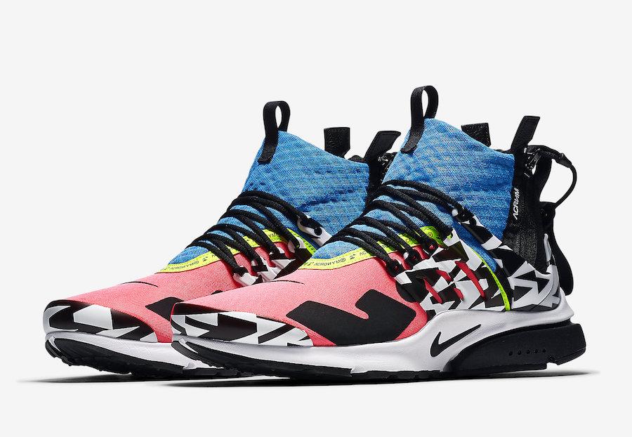 Acronym x Nike Air Presto Mid Release Date