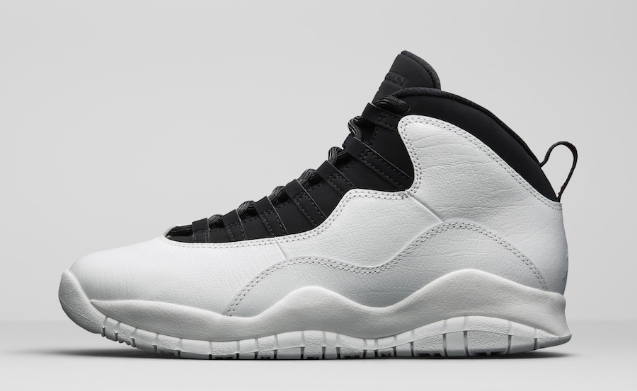 white black jordan 10