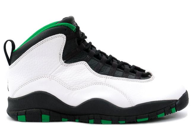 "Air Jordan 10 ""Seattle Supersonics"""