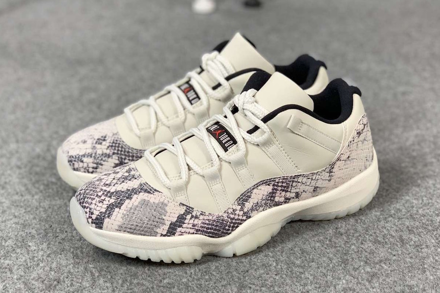 "Air Jordan 11 Low ""Snakeskin"""