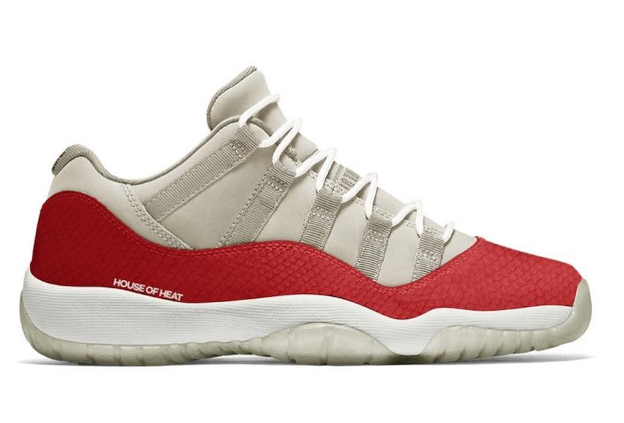 "Air Jordan 11 Low SE ""Snakeskin"" Release Date"
