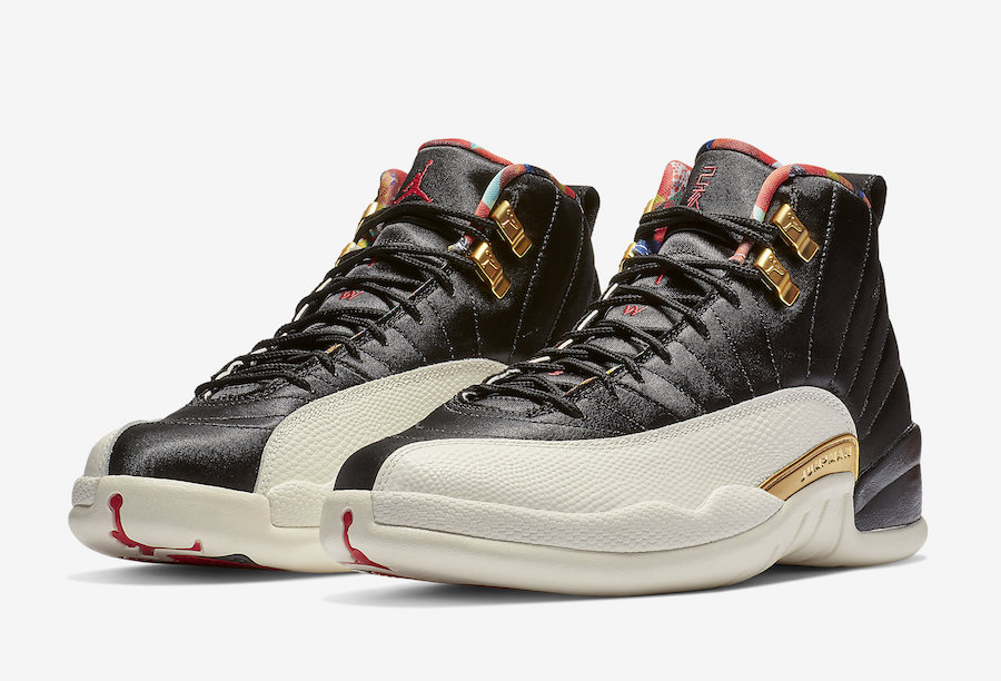 "Air Jordan 12 ""Chinese New Year"""