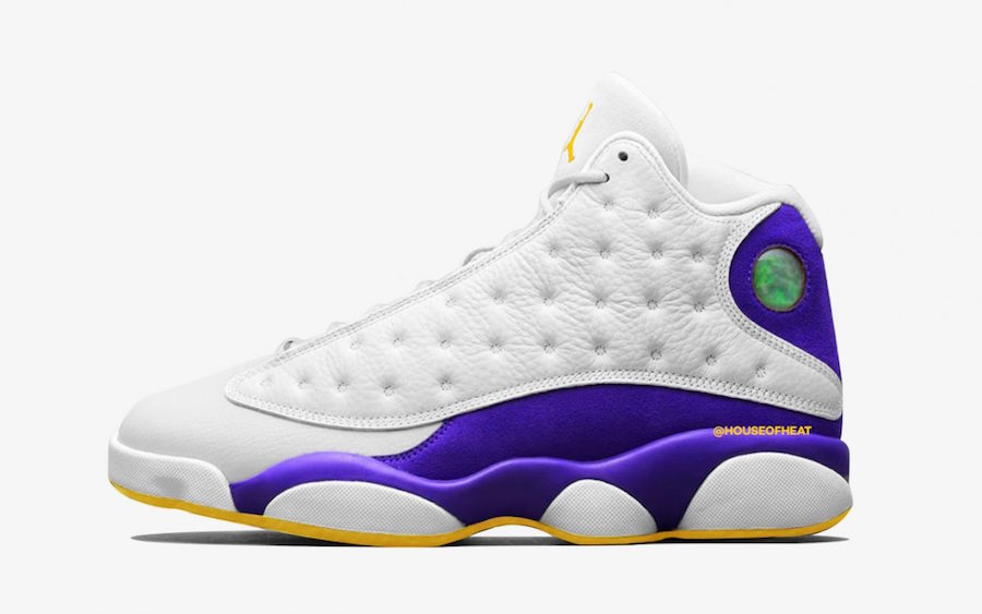 "best authentic d3d95 cbba7 Air Jordan 13 ""Lakers Rivals"""