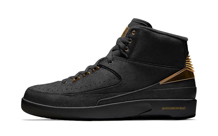 "Air Jordan 2 ""BHM"""