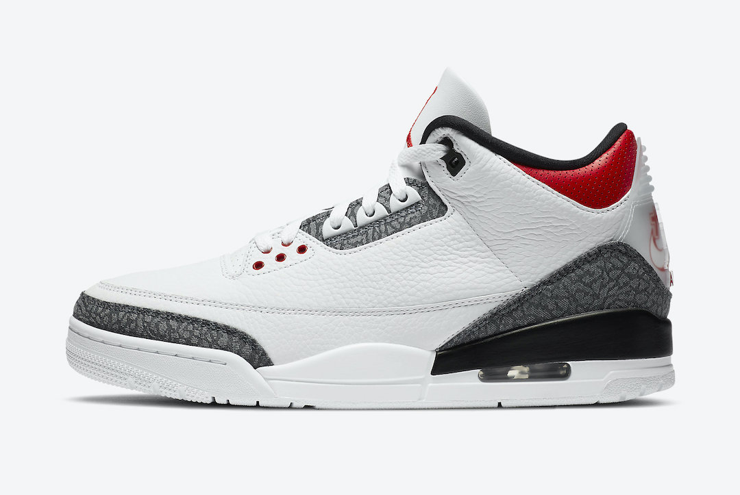 "Air Jordan 3 SE-T ""Fire Red"""
