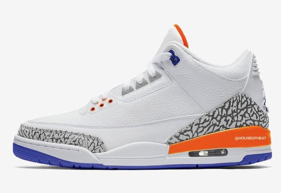 "Air Jordan 3 ""Knicks Rivals"""