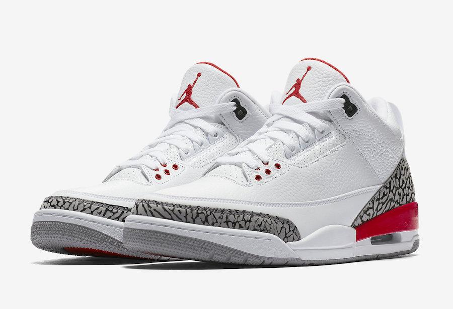 """Air Jordan 3 """"Katrina"""" Release Date"""