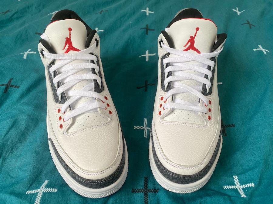 "Air Jordan 3 SE-T ""Fire Red"""