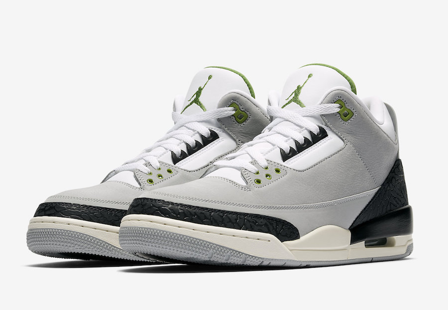 "Air Jordan 3 Tinker ""Chlorophyll"" Release Date"