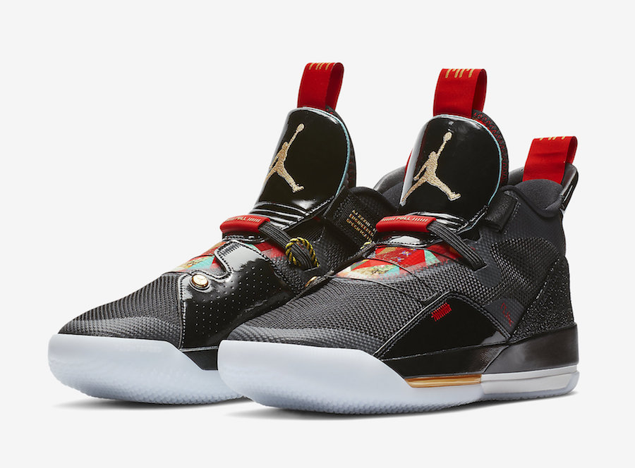 "Air Jordan 33 ""Chinese New Year"""