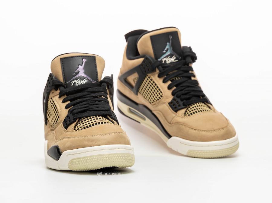 """Air Jordan 4 WMNS """"Mushroom"""""""
