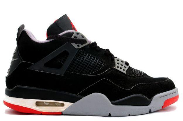 "Air Jordan 4 ""Bred"""