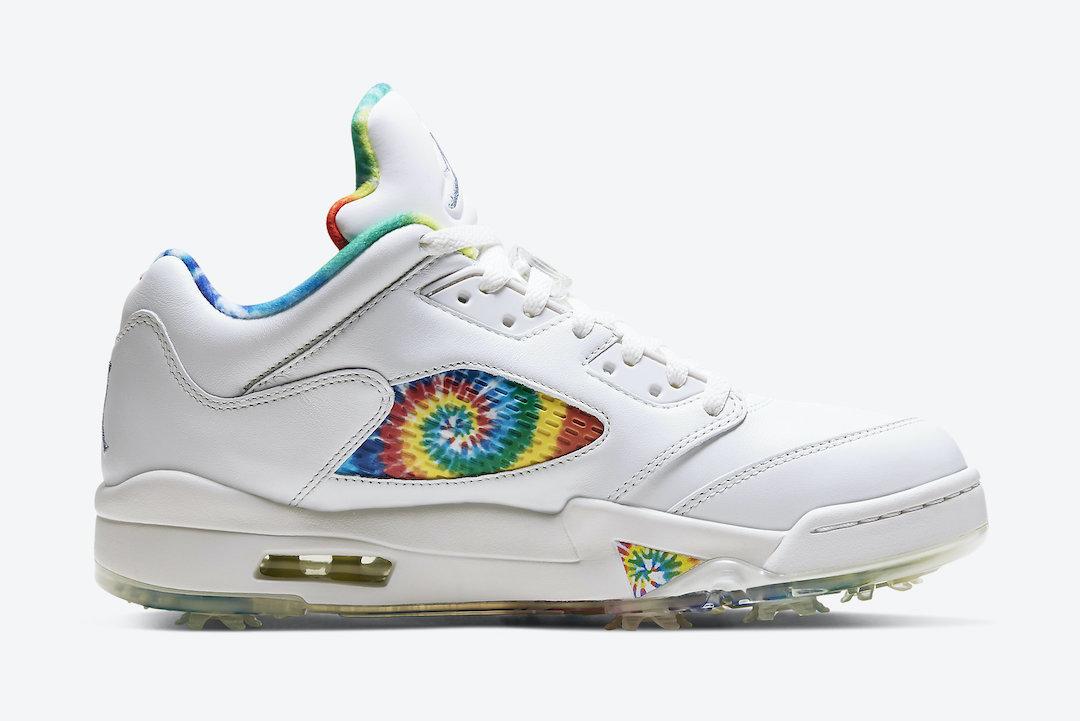 """Air Jordan 5 Low Golf """"Tie-Dye"""""""