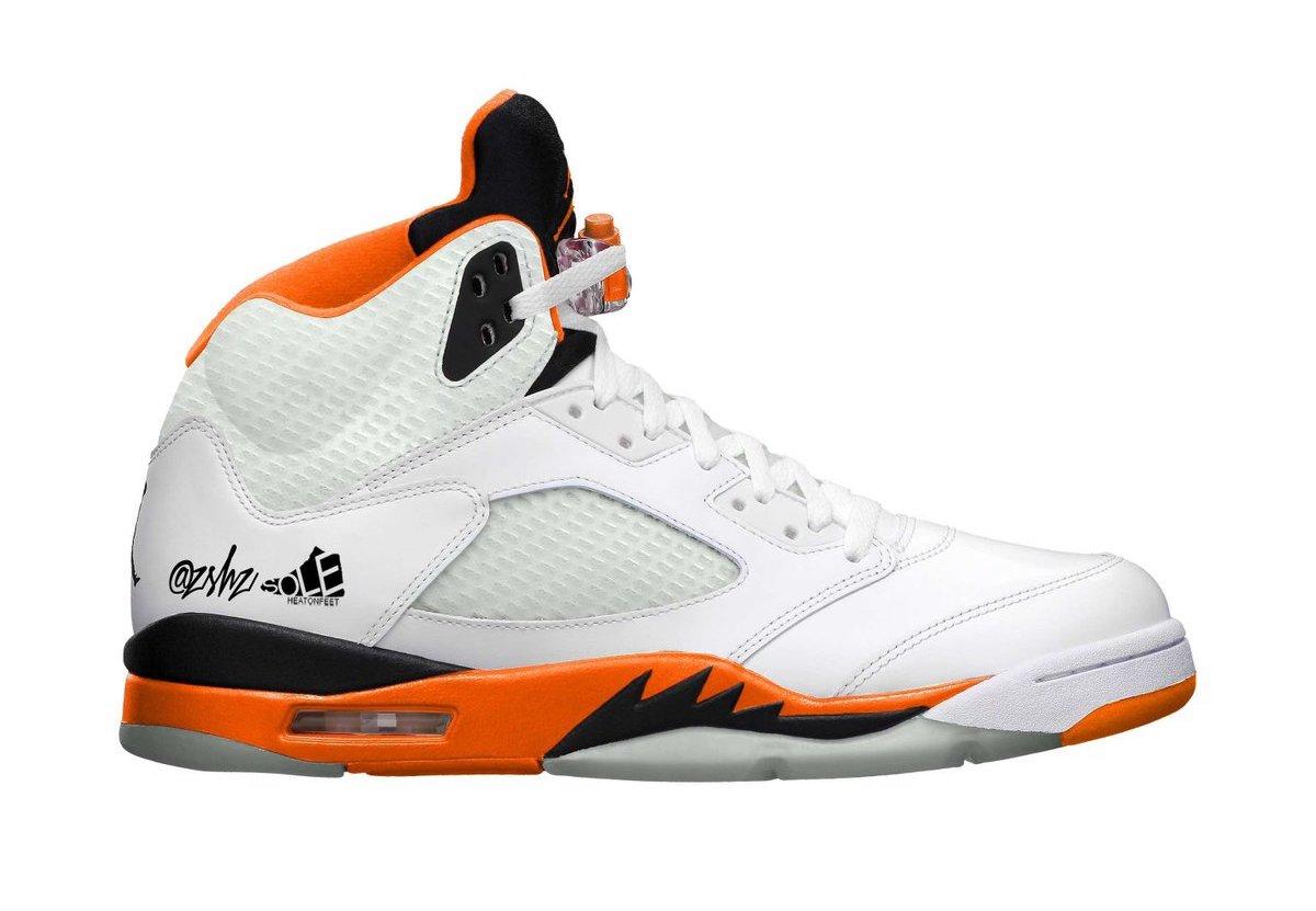 """Air Jordan 5 """"Total Orange"""""""