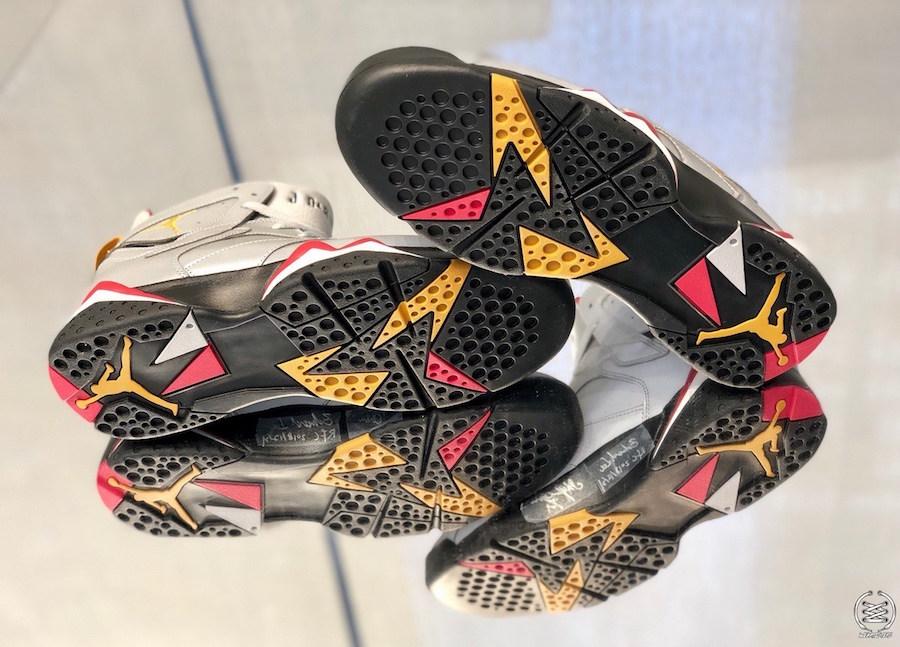"""Air Jordan 7 """"Reflective Cardinal"""""""