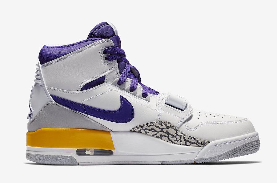 """Air Jordan Legacy 312 """"Lakers"""""""