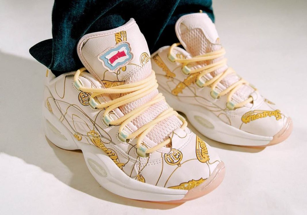 "BBC Ice Cream x Reebok Question Low ""Beepers & Butts"""