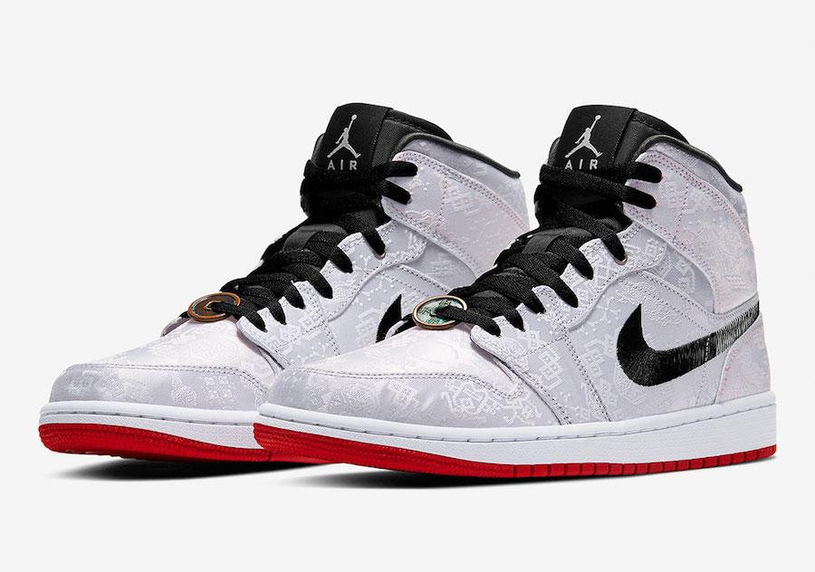 "CLOT x Air Jordan 1 Mid ""Fearless"""