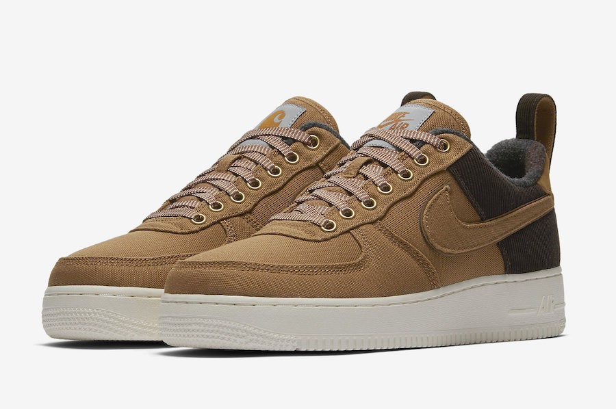 Carhartt WIP x Nike Air Force 1 Low Release Date