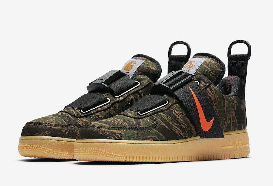 Carhartt WIP x Nike Air Force 1 Low Release Date