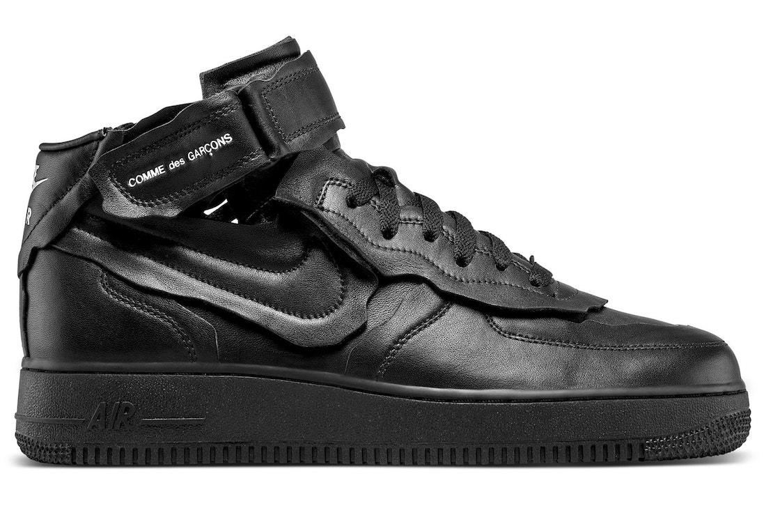Comme des Garçons x Nike Air Force 1 Mid