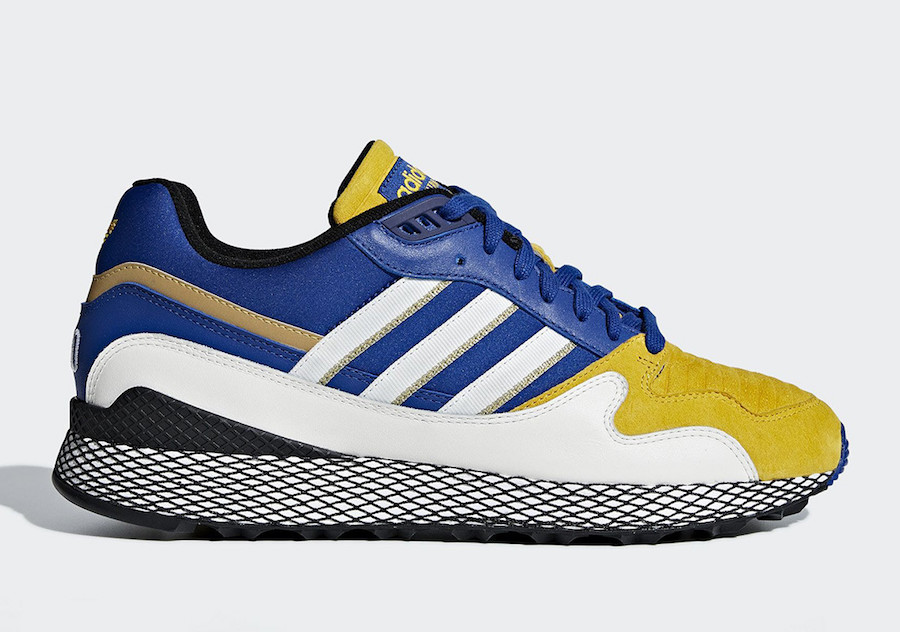 "Dragon Ball Z x adidas Ultra Tech ""Vegeta"" Release Date"