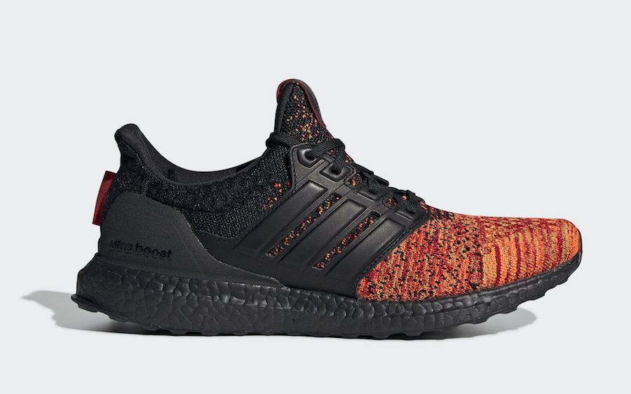 "Game of Thrones x adidas Ultra Boost ""House Targaryen Dragons"" Release Date"