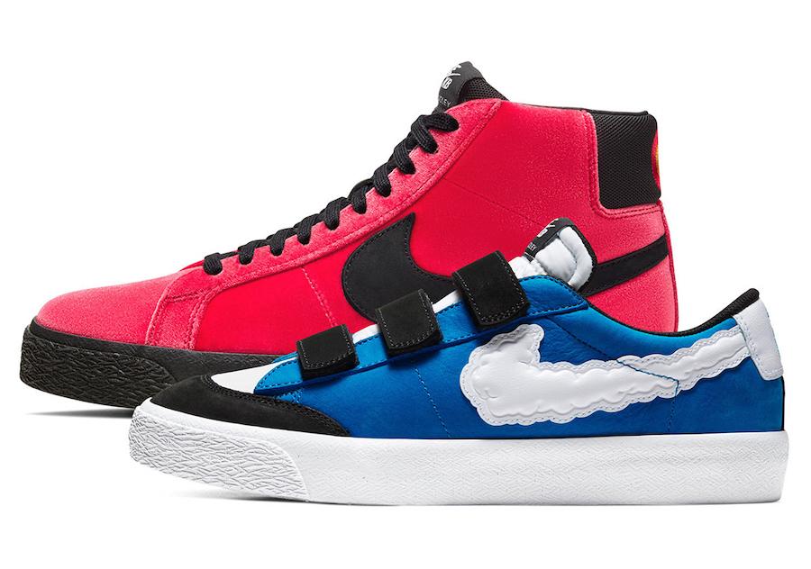 """Kevin Bradley x Nike SB Blazer Low """"Heaven"""""""