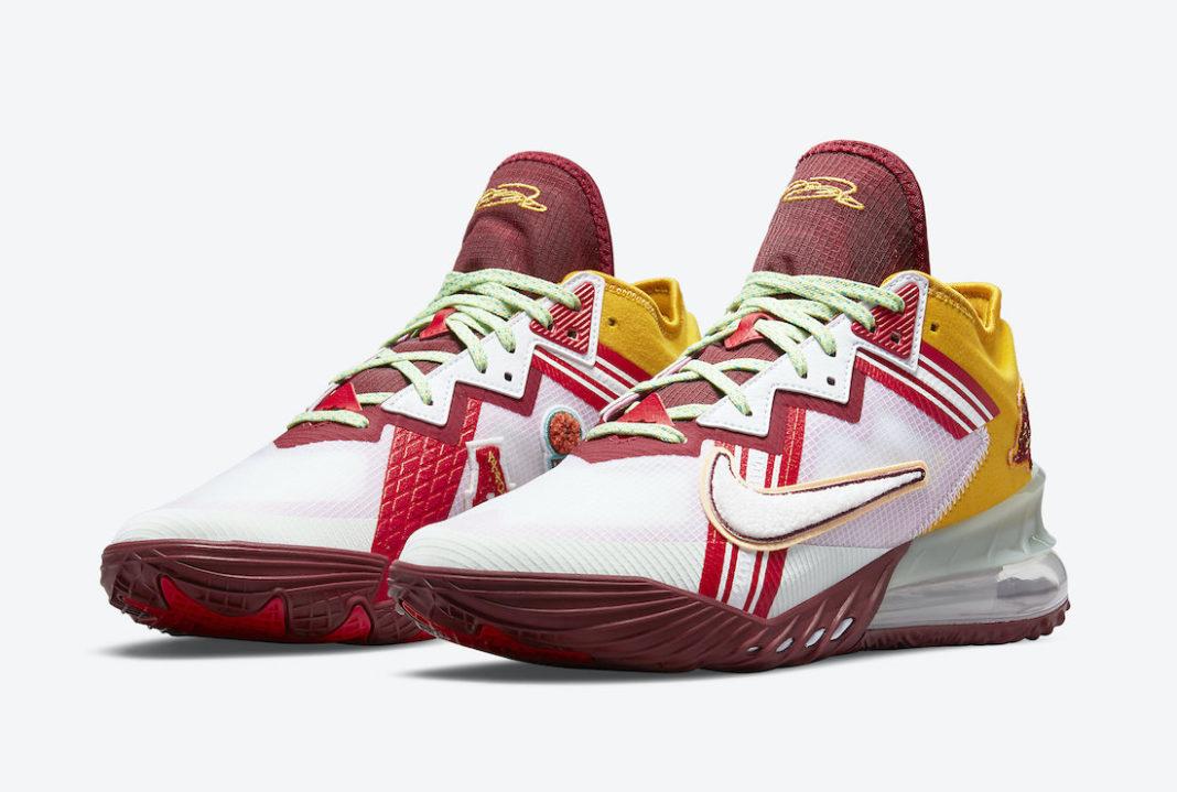 "Mimi Plange x Nike LeBron 18 Low ""Higher Learning""<"