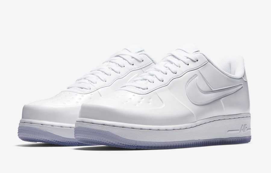 "Nike Air Force 1 Foamposite Pro Cup ""Triple White"""