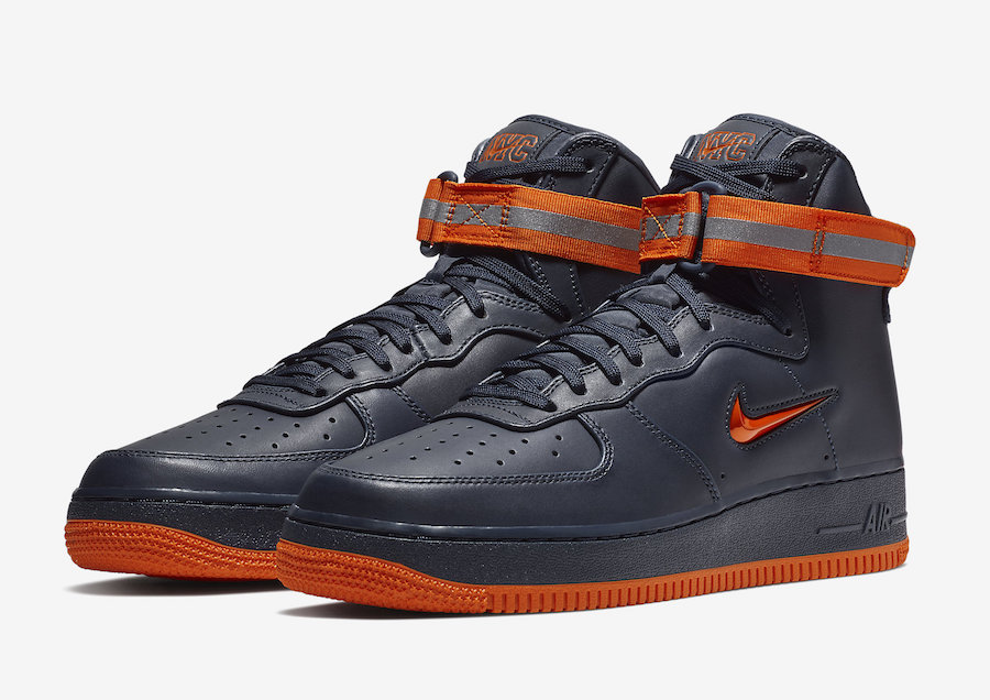 """Nike Air Force 1 High """"NYC"""" Release Date"""