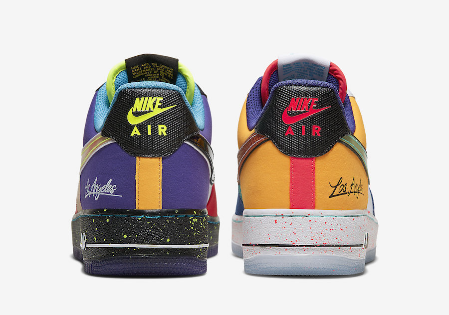 """Nike Air Force 1 Low """"What The LA"""""""