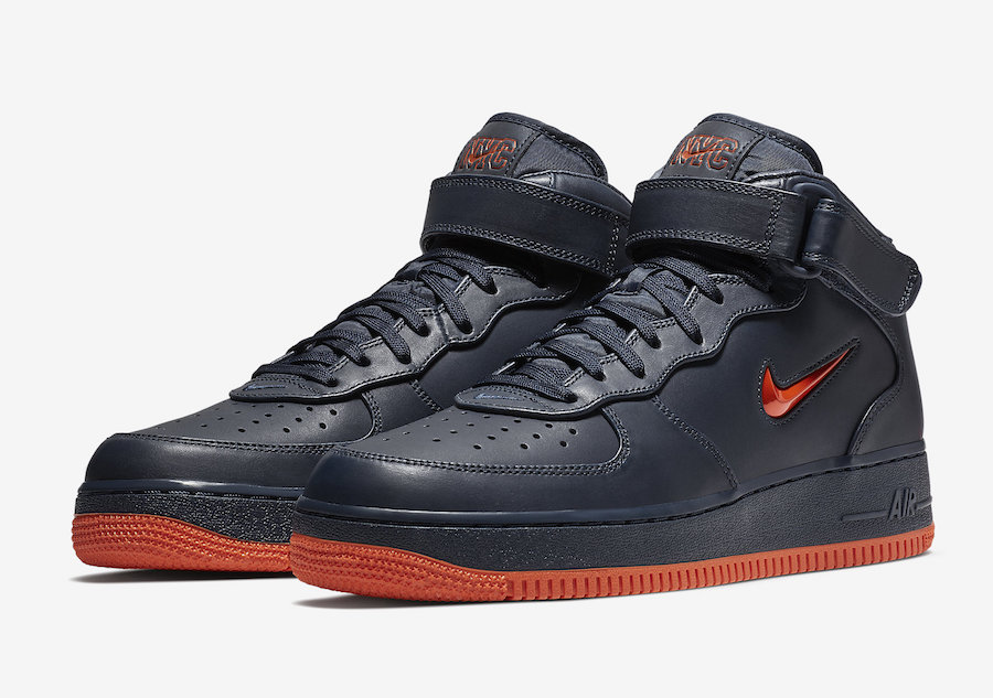 """Nike Air Force 1 Mid """"NYC"""" Release Date"""