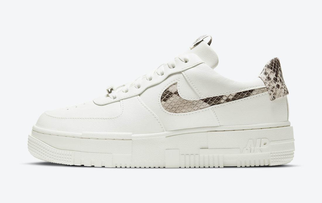 """Nike Air Force 1 Pixel """"Sail Snake"""""""