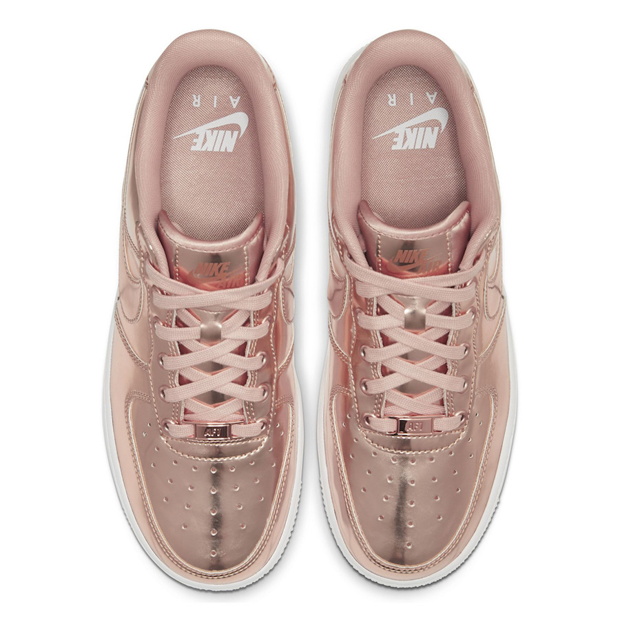 "Nike Air Force 1 ""Liquid Metal"""