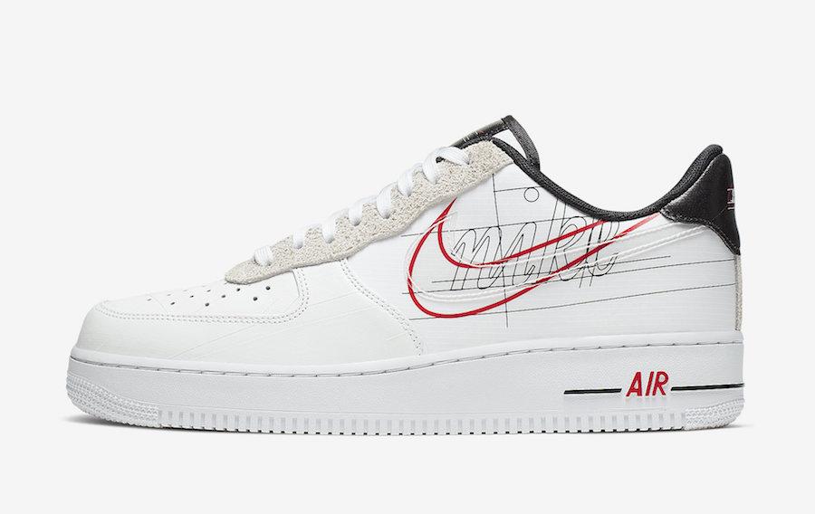 """Nike Air Force 1 """"Script Swoosh"""""""