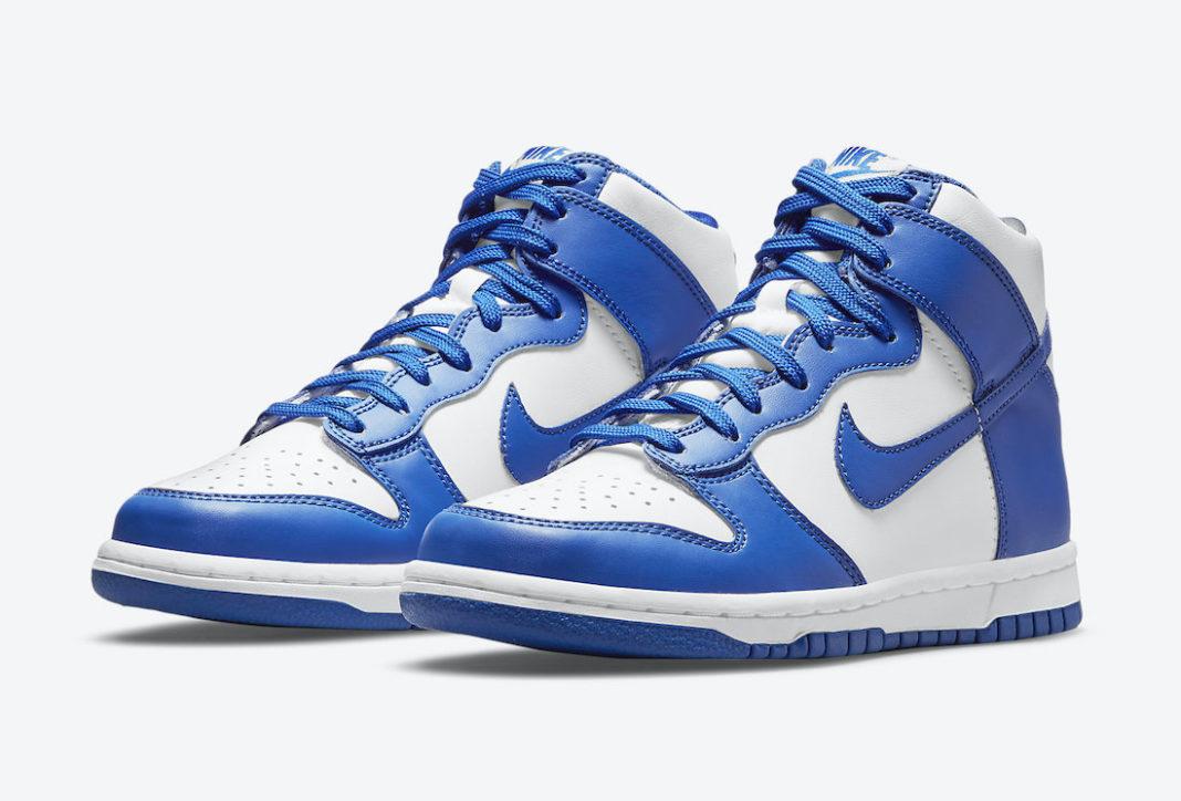 """Nike Dunk High """"Game Royal""""<"""