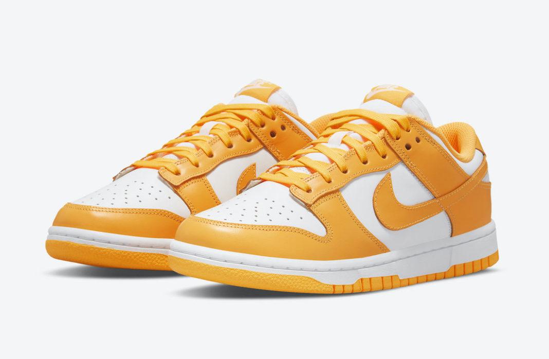 """Nike Dunk Low WMNS """"Laser Orange""""<"""