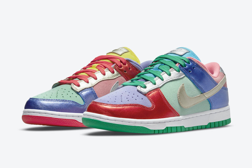 """Nike Dunk Low WMNS """"Sunset Pulse""""<"""