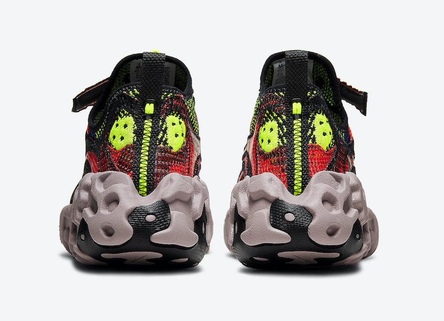 "Nike ISPA OverReact ""Crimson Volt"""