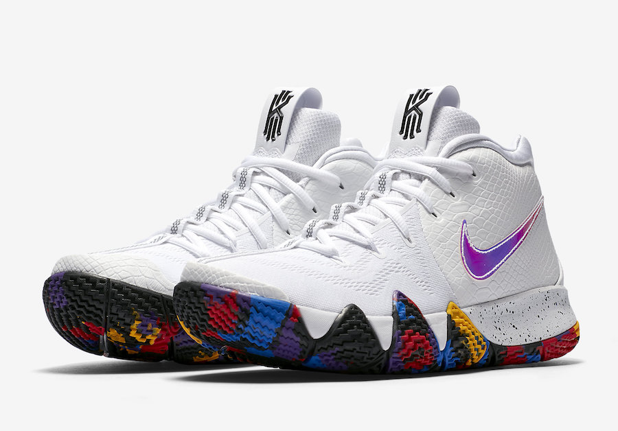 "Nike Kyrie 4 ""March Madness"" Release Date"