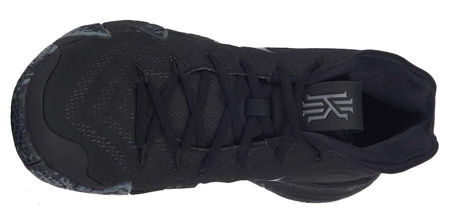 "Nike Kyrie 4 ""Triple Black"""
