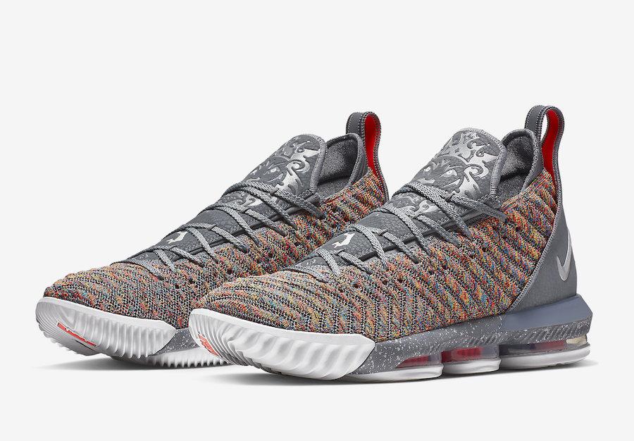 "Nike LeBron 16 ""Multicolor"" Release Date"