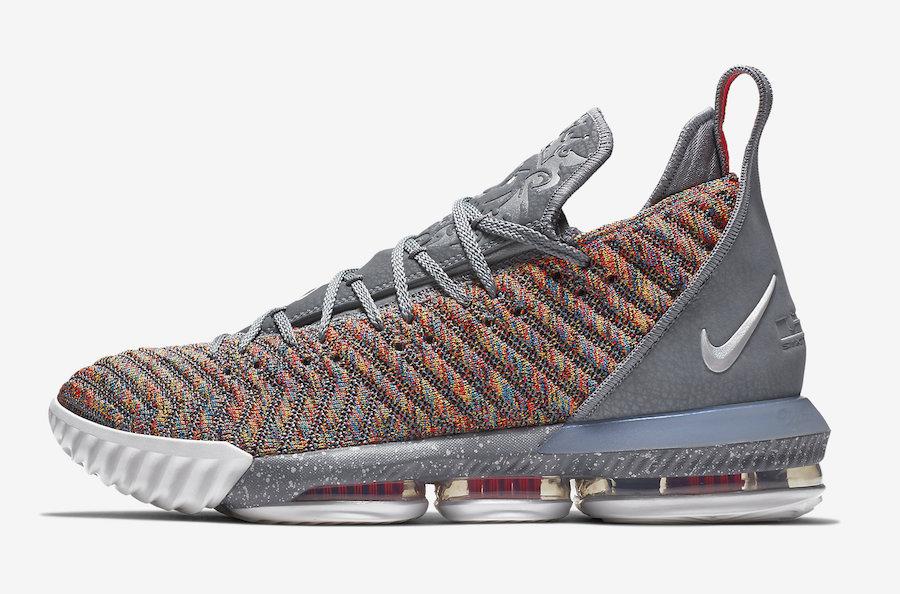 "Nike LeBron 16 ""Multicolor"""