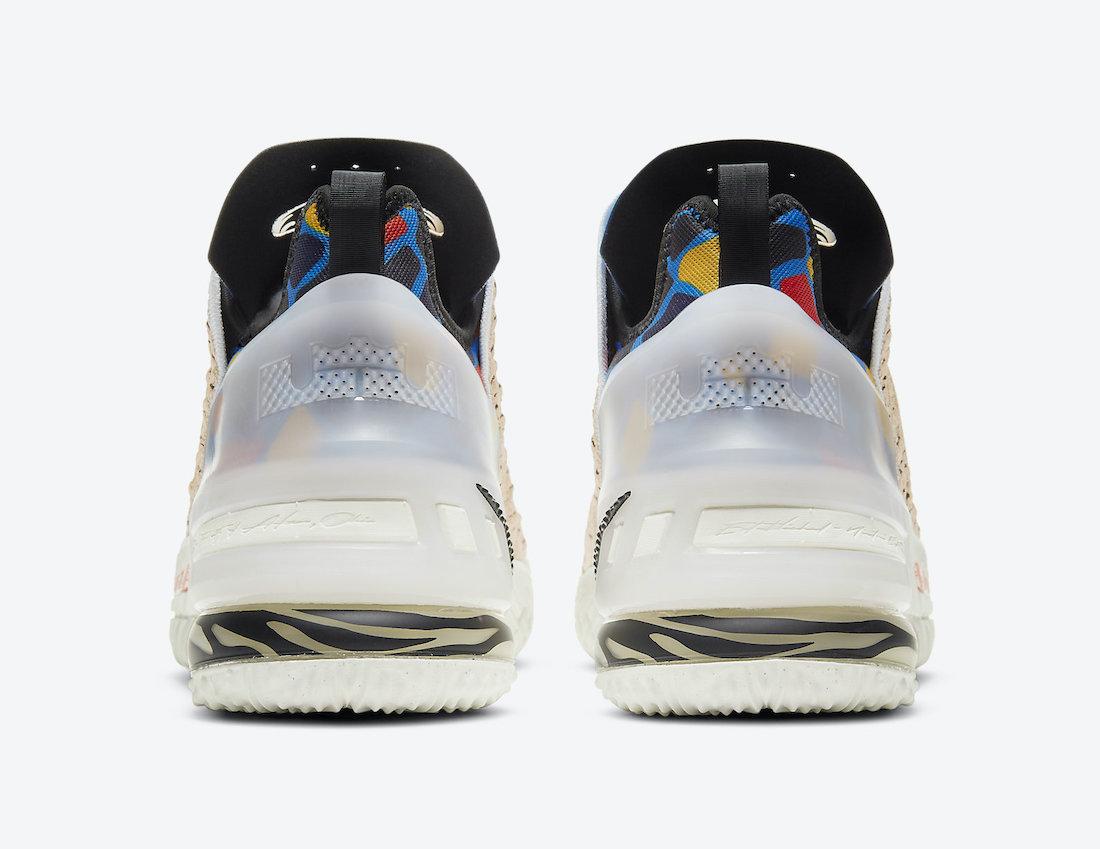 "Nike LeBron 18 ""Majestic Ferocity"""