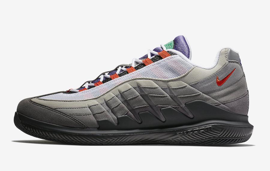 """NikeCourt Vapor RF x Air Max 95 """"Greedy"""""""
