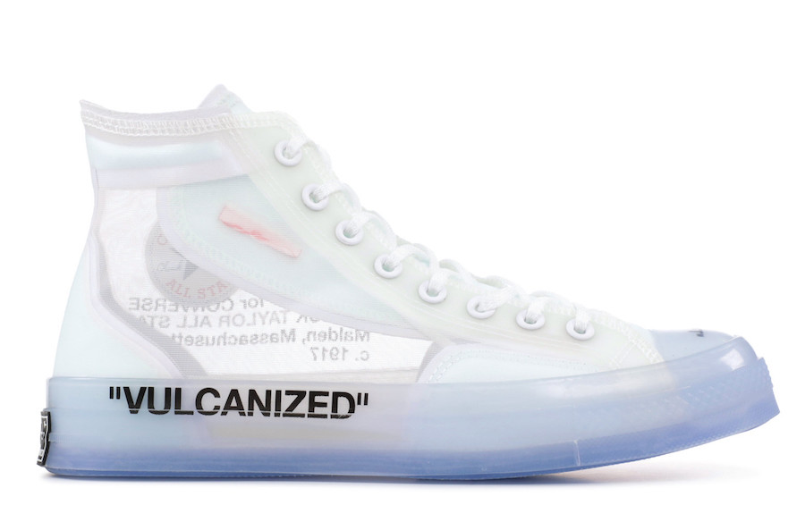 Off-White x Converse Chuck Taylor All-Star Release Date