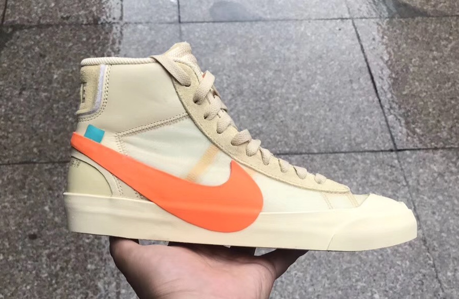 "65de3117a980 Off-White x Nike Blazer Mid ""All Hallows Eve"""